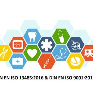 Mustervorlage nach DIN EN ISO 13485:2016 und DIN EN ISO 9001:2015 – Medizinprodukte QM