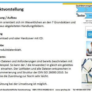 Mustervorlage DIN ISO 26000:2010 Gesellschaftliche Verantwortung